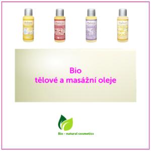 Bio tělové a masážní oleje