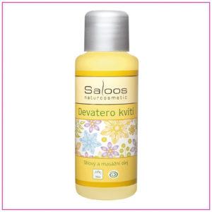 Devatero kvítí: Bio tělový a masážní olej 50 ml