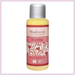 Erotika: Bio tělový a masážní olej 50 ml