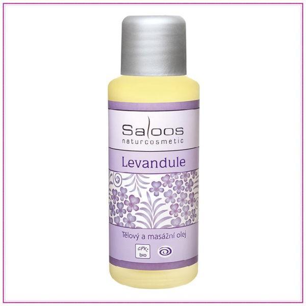Bio tělový a masážní olej – Levandule
