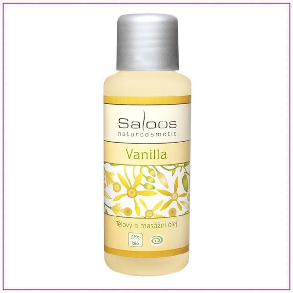 Bio tělový a masážní olej – Vanilla