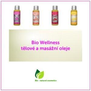 Bio Wellness tělové a masážní oleje