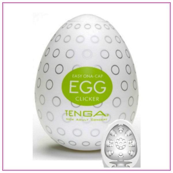 Mastrubátor pro muže: Tenga egg - Clicker