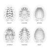Vnitřní struktura všech modelů Tenga egg