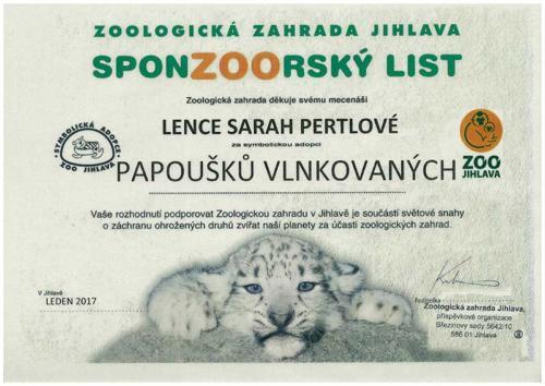 Sponzorsky list - 2017